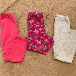 Other - Girls size 7 leggings bundle